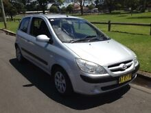 2007 Hyundai Getz TB Upgrade S Silver 4 Speed Automatic Hatchback Granville Parramatta Area Preview