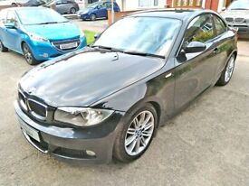 image for 2009 BMW 120D M SPORT COUPE DIESEL MANUAL ONLY 94K MILES, CAT N DAMAGED