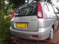 Chevrolet TACUMA 1.6 2005 tailgate breaking for parts