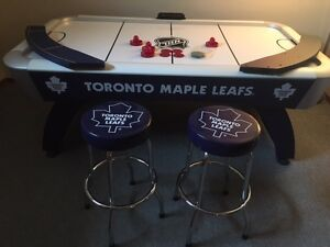 Toronto Maple Leafs Full Sized Air Hockey Table w/ Stools