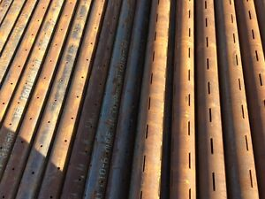 """4 1/2"""" slotted or perforated pipe"""