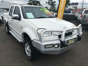 2010 Great Wall V240 K2 Super Luxury White Manual Utility Lansvale Liverpool Area Preview