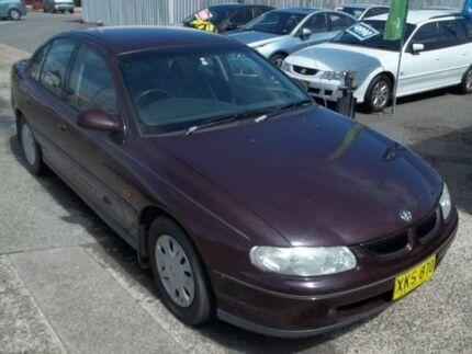 1998 Holden Commodore VT Acclaim Burgundy 4 Speed Automatic Sedan
