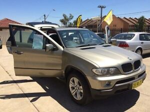 2006 BMW X5 E53 MY06 is Gold 5 Speed Automatic Wagon Queanbeyan Area Preview