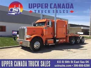 2014 Peterbilt 388 Winch Tractor with Low Low Kms!