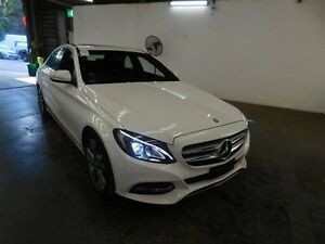 2015 Mercedes-Benz C200 205 MY16 W205 806MY 7G-TRONIC + White 7 Speed Automatic Sedan Virginia Brisbane North East Preview