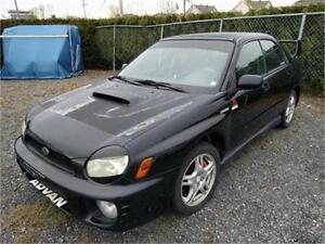 2002 Subaru Impreza Sedan WRX