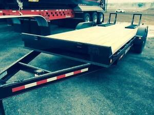 2016 Warner 20' Flat Deck With Ramps