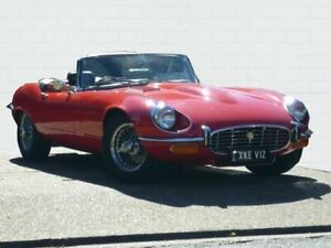 1974 Jaguar E-Type Series 3 5.3 Red 4 Speed Manual Roadster Moorooka Brisbane South West Preview
