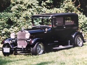 1929 Ford model A 2 dr hot rod