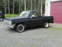 Project Short Box Chev 1/2 ton