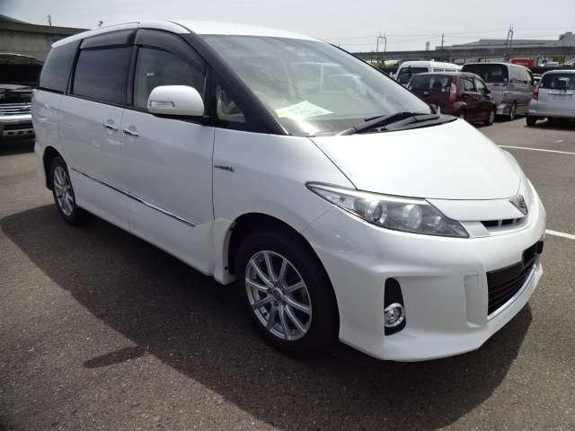 Toyota Previa Hybrid Estima New Shape 2015 8 Seater 6 Hybrid Estima