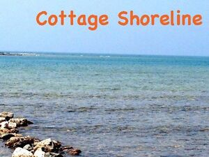 Off-Season Rates Lake Huron Waterfront cottage - Tobermory area