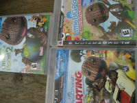 playstation 3 games: (1) little big planet 2. E. $12 (2) little