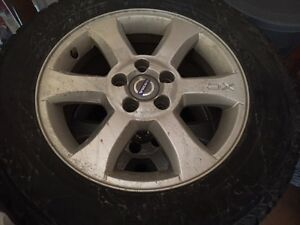 Volvo XC rims with snow tires
