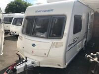 BAILEY RANGER GT60- 2009- 2 BERTH END CHANGING ROOM