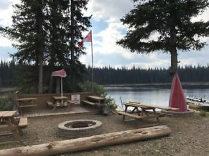 Seasonal Wilderness RV Lots available at Dominic Lake