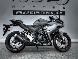 2016 Yamaha YZF-R3 - V2304NP - **Financing Available