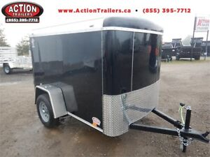 2018 5x8 ATLAS CARGO TRAILER - THIS TRAILER GETS THE JOB DONE!