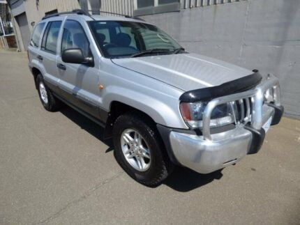 2003 Jeep Grand Cherokee WG MY2003 Laredo Silver 5 Speed Automatic Wagon