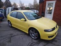 SEAT LEON 1.8T CUPRA 'R' 225~54'2004~5 DOOR HATCHBACK~6 SPEED MANUAL~STUNNING