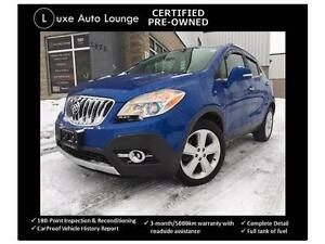 2015 Buick Encore - AWD, NAVIGATION, Leather, Sunroof, XM, Bose!