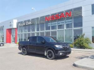 2017 Honda Ridgeline Black Edition **Loaded with Options!**