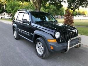 2007 JEEP LIBERTY , AUTOMATIQUE ,  4X4 , AIR CLIMATISE ,  GROUPE