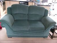 FREE: Green 3 & 2 seater sofas. Good condition.