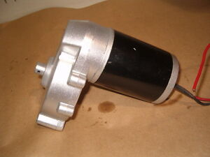 GEAR MOTOR 12 VOLT 150-160 RPM 180 WATT WITH OUTPUT SHAFT Prince George British Columbia image 3