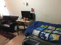 A single bed to rent in a double bed flat