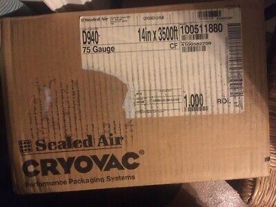 14 Width Centerfold Cryovac Shrink Wrap 75 Gauge 3500 Feet