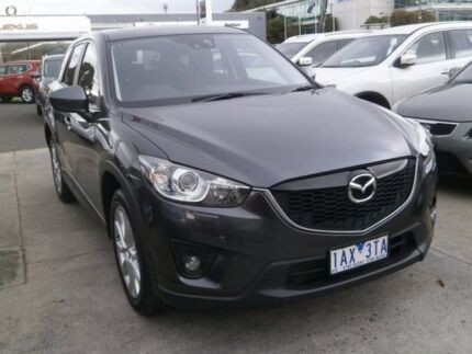 2013 Mazda CX-5 KE1021 MY14 Akera SKYACTIV-Drive AWD Grey 6 Speed Sports Automatic Wagon