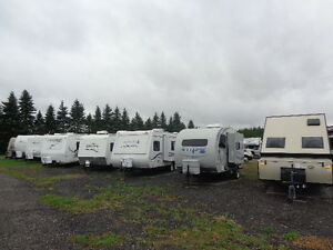 Huge Preowned Fifth Wheel and Travel Trailer Savings