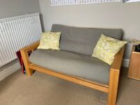 Futon sofa bed (double) from Futon Company - Excellent condition