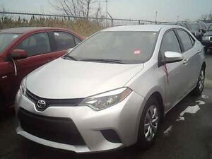 2014 TOYOTA COROLLA LE AUTOMATIC BACK UP CAMERA 34KM