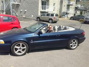 2004 Volvo C70 Convertible full cuir