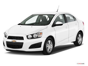 2014 Chev Sonic LT with Extended Warranty Excellent Condition