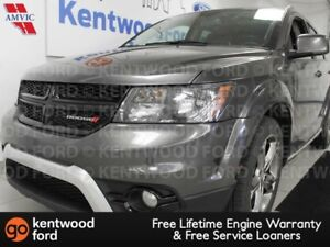 2017 Dodge Journey Crossroad with heated power leather seats, he