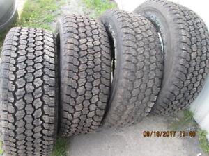 pneus LT 275 65 18 goodyear ford dodge gmc toyota
