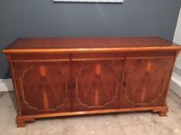 yew sideboard excellent condition