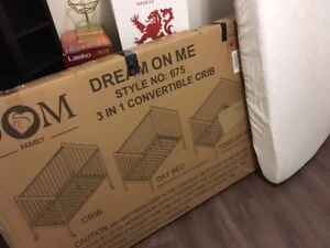 Infant to toddler 3 in 1 crib by Dream On Me