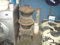 large pot belly stove