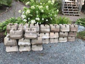 "Deck Blocks for 6""x6"" Posts"