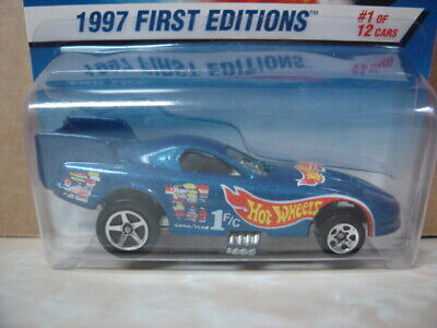 HOT WHEELS   1997 FIRST EDITIONS  FIREBIRD FUNNY CAR   COLLECTOR  #509  1/64