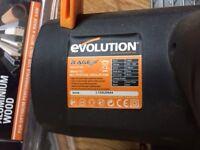 Evolution Rage CIrcular saw & 3 blades