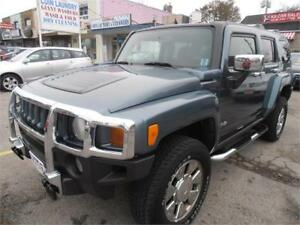 2007 Hummer H3 SUV Leather Sunroof 4WD Grey Only 114,000km