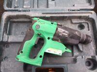 Hitachi DH 24vdc cordless SDS hammer drill