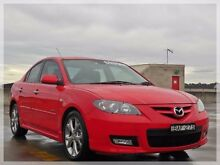 2006 Mazda 3 BK1032 SP23 Red Sports Automatic Sedan North Curl Curl Manly Area Preview