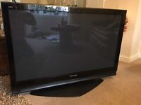 Panasonic 50 '' plasma flat screen TV